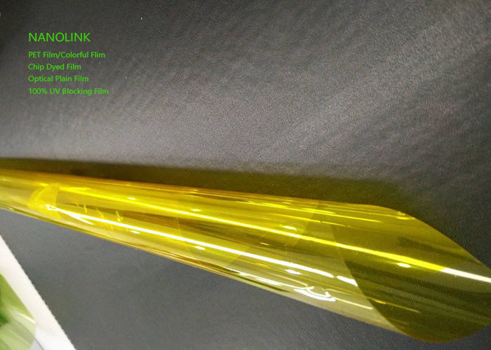 Sun Blocking Decorative Tinted Window Film For Home Building / Vehicle Window
